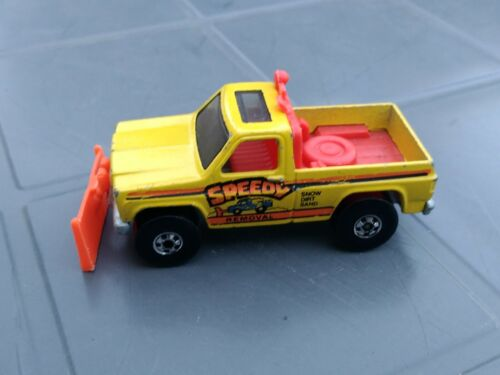 VOITURE HOT WHEELS SPEEDY REMOVAL 1979 MADE IN HONG KONG RARE
