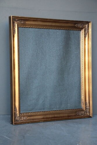 Large antique French Empire carved gilt wood frame mirror Neoclassical 1900's