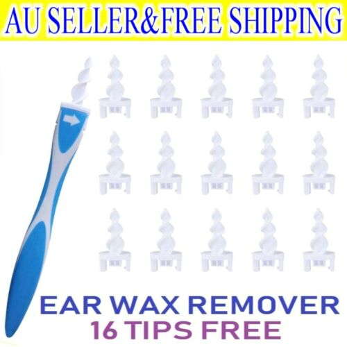 Hot New Soft Ear Wax Cleaner Removal Multi earwax Remover Spiral Safe Tip Tool