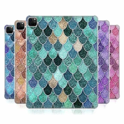 HEAD CASE DESIGNS MERMAID SCALES PATTERNS HARD BACK CASE FOR APPLE iPAD
