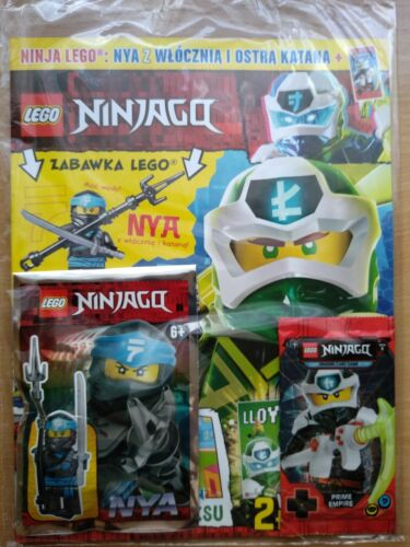 LEGO NINJAGO 5 2020 i NYA  Limited Edition Mini Figure i Trading Card Game