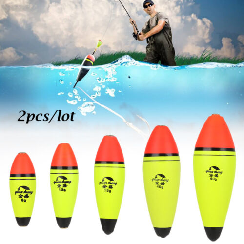 4x 12x 20x Bobbers Hard Foam Float Ball PVC Rigid Bobber Floats for Fishing AU