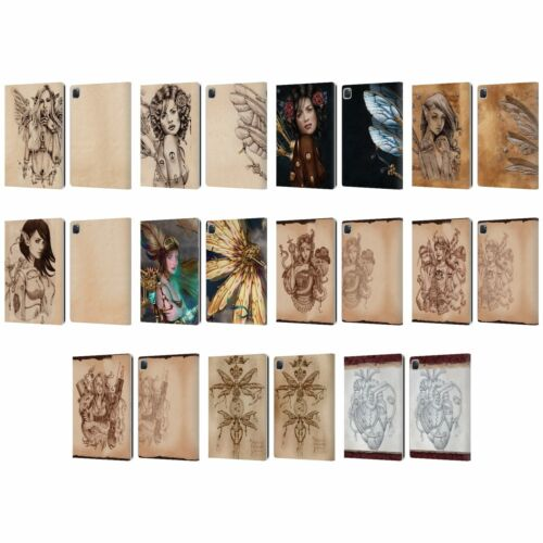 OFFICIAL BRIGID ASHWOOD STEAMPUNK LEATHER BOOK WALLET CASE FOR APPLE iPAD