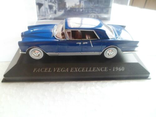 FACEL VEGA EXCELLENCE - 1960 - Voiture miniature de collection 1/43