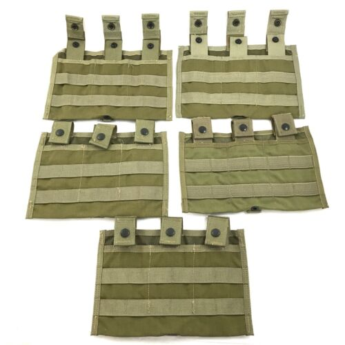 Eagle Industries Triple Shingle Mag Pouch USGI MOLLE Khaki SFLCS, 5 PACKPouches - 158437