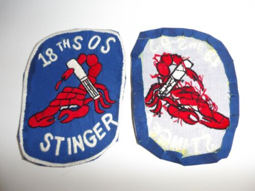 e4317 US Air Force Gun Ship Stinger AC-119 18th SOS Special Op Sq Patch IR20CReproductions - 156445
