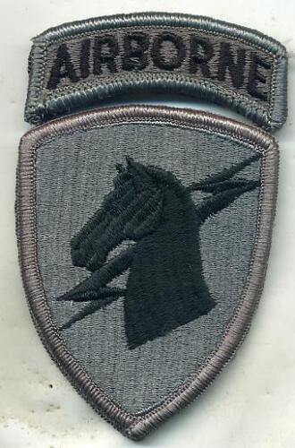 Us Army 1st Special Operations Command Airborne Acu Patch W/tab