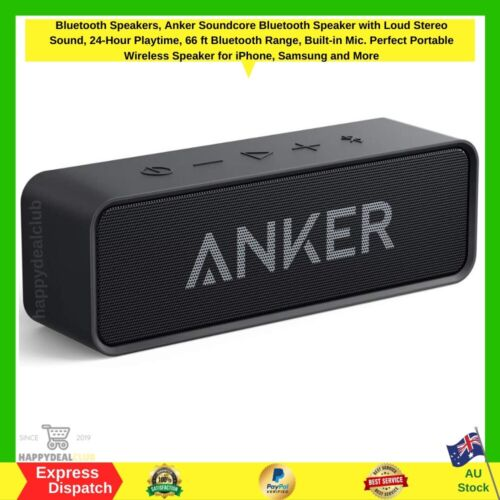 Bluetooth Speakers, Anker Soundcore Bluetooth Speaker | NEW FAST FREE SHIPPING