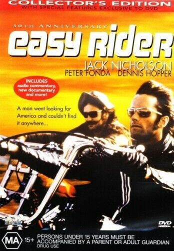 EASY RIDER (COLLECTOR'S EDITION) (1969) [NEW DVD]