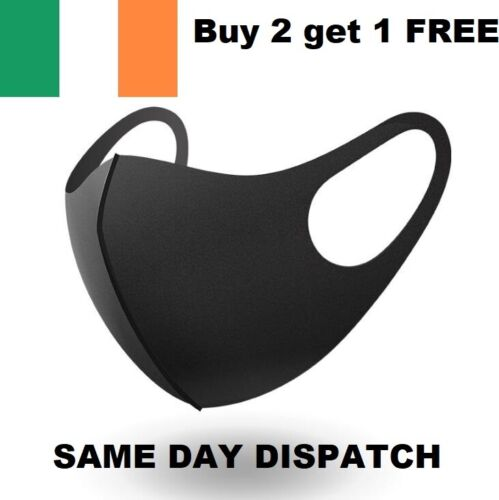 Face Mask Reusable & Washable Same Day Dispatch Retail Pack <br/> BUY 2 Get 1 FREE Irish Stock  1000's sold