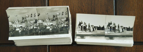 LOT of 116 Chicago CENTURY PROGRESS 1933 Keystone Junior World Fair STEREOVIEWS