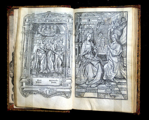 c 1510 BOOK OF HOURS AND CALENDAR- FRANCE -HARDOUYN, 91 LEAVES, 22 MINIATURES