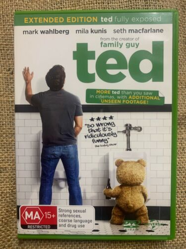DVD Movie Film R4 Comedy Funny Humor -TED MARK WAHLBERG MILA KUNIS