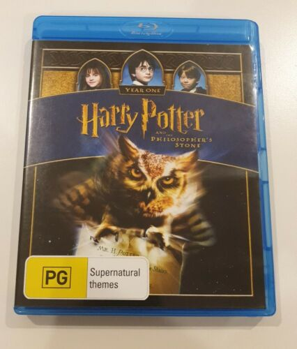 Harry Potter and the Philosopher's Stone (2001 Blu-ray) Daniel Radcliffe