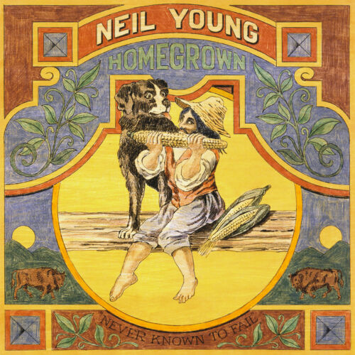 """NEIL YOUNG """"HOMEGROWN""""  lp  sealed"""