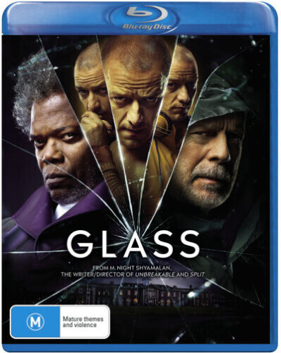 GLASS (2018) [NEW BLURAY]