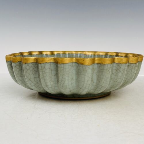 China  Song dynasty  Tracing gold  double  fish patterns  butterfly  Brush wash