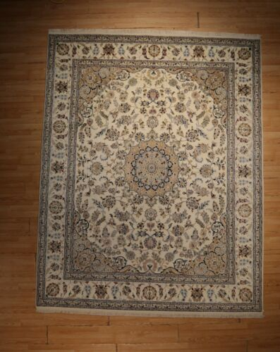 """8x10 FINE INTRICATE """"ANTIQUE MUSEUM DESIGN"""" HANDMADE-KNOTTED WOOL RUG 585579"""