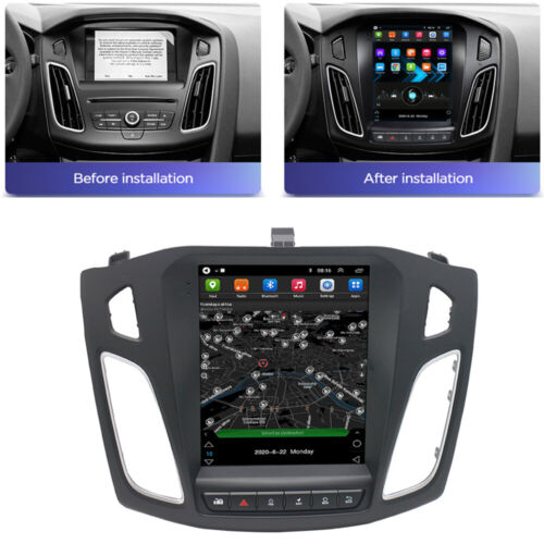 9.7'' Android 10.1 Car Stereo Radio Head Unit GPS Navi For Ford Focus 2012-2017