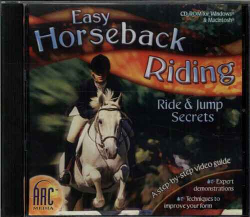 Easy Horseback Riding, Ride & Jump Secrets, Step by Step Video Guide, PC MAC