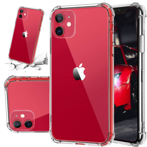 FREE CASE!! (2) iPhone 12 (Mini, Standard, Pro, Max) Shockproof Clear Cases