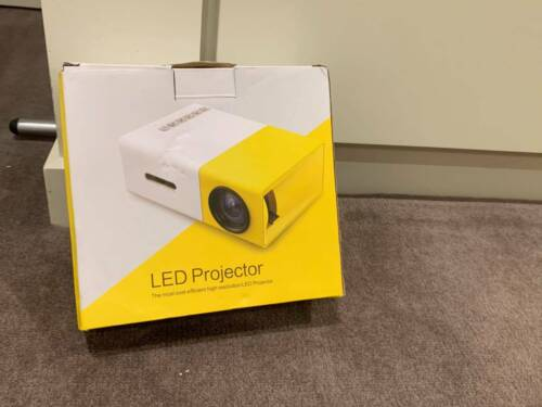 UNOPENED PORTABLE PROJECTOR