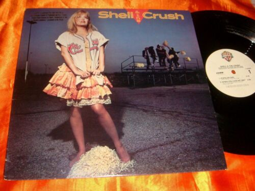 SHELL AND THE CRUSH, 12-inch Vinyl Single Play Record, 33 rpm
