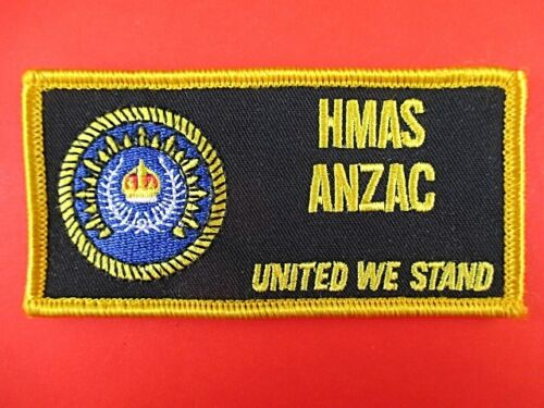 ROYAL AUSTRALIAN NAVY HMAS ANZAC SHOULDER PATCH INSIGNIA - UNITED WE STAND1961 - 1975 (Vietnam) - 36060