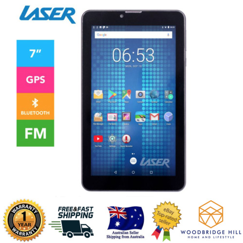 New Laser 7 inch Tablet Quad Core Android 7 8GB Anti Break 1024x600 Wi-Fi GPS