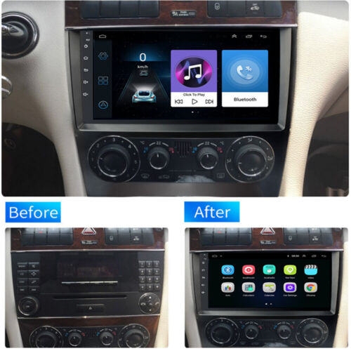 9'' Android 10.1 Car Stereo Radio For Mercedes-Benz C CLK CLC G-Class W203 W209