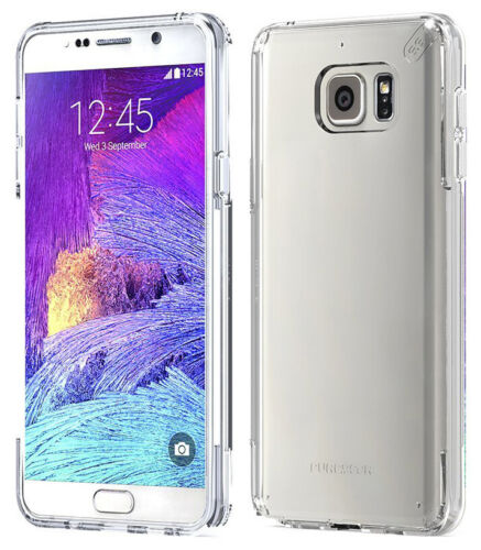 PUREGEAR SLIM SHELL PRO CLEAR ANTI-SHOCK CASE COVER FOR SAMSUNG GALAXY NOTE 5