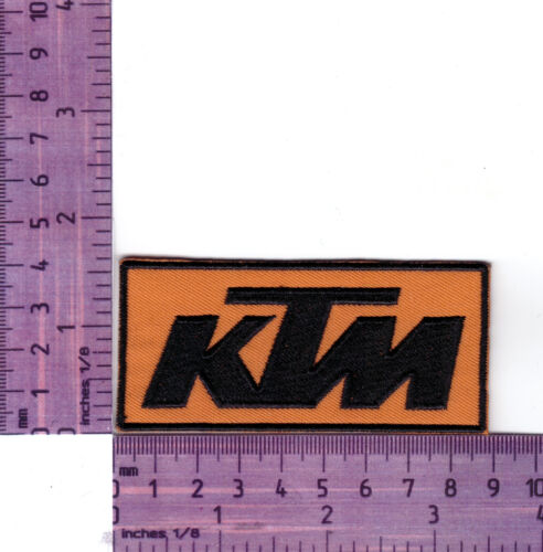 KTM Motorcycles Embroidered Cloth  Patch / badge