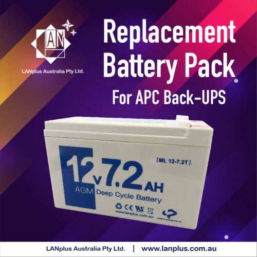 New Replacement Battery Pack APC RBC110 UPS BX650CI BR550 BE550 BE600