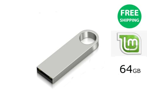 linux Mint bootable installation / recovery usb stick 64GB - AU