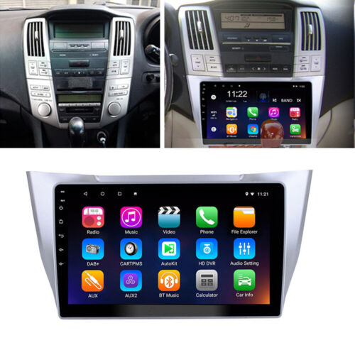 For 2003-2010 Lexus RX300 RX330 RX350 Stereo Radio 10.1'' Android 10 GPS Player