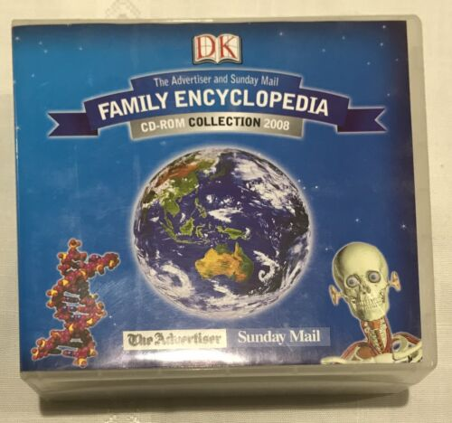 DK Family Encyclopedia CD-Rom Collection 2008 Vol 1-15
