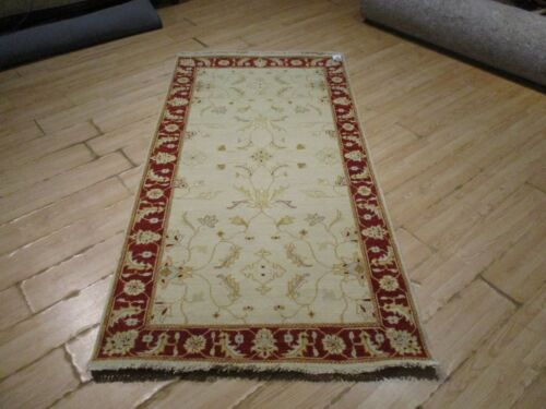 """7'10"""" FEET BEAUTIFUL VERY UNIQUE RUNNER  HANDMADE-KNOTTED WOOL RUG 585664"""