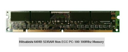 Mitsubishi SDR SdRam Memory Modules, RARE,64mb units only 2 left Reduced to sell