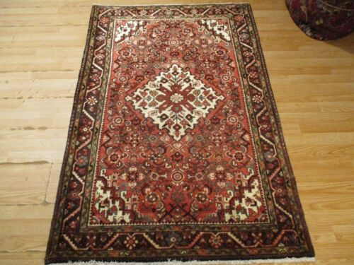 3x5 CA 1960 VERY UNIQUE HOSSEIN ABAD DESIGN HANDMADE-KNOTTED WOOL RUG 583380