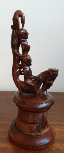 Papuan Tribal Wood Carving