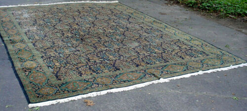 ANTIQUE TREE OF LIFE ORIENTAL ROOM SIZE RUG GREAT COLORS,FINE WEAVE 10' X 13' NR