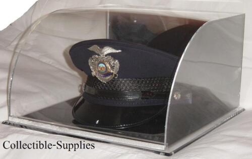 NEW Curved Military / Police Top Hat Cover Display CaseHats & Helmets - 36076