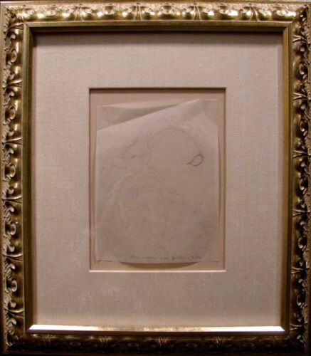 "Guillaume Azoulay ""Scorpion"" framed Original Pencil Drawing MAKE AN OFFER! L@@K!"