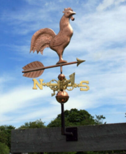 "AMAZING COPPER ""ROOSTER"" WEATHERVANE  MADE IN USA #379"