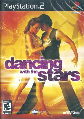 PLAYSTATION 2 PS2 TV GAME DANCING WITH THE STARS, NEW & SEALED