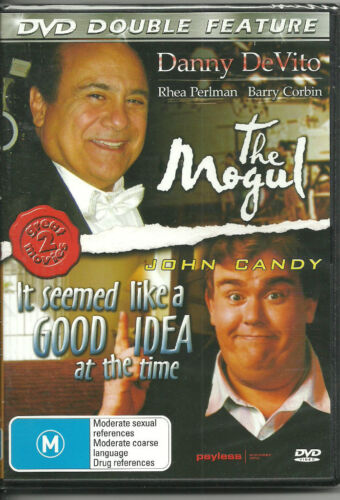 DVD DOUBLE FEATURE - THE MOGUL & IT SEEMED LIKE A GOOD IDEA AT THE TIME -