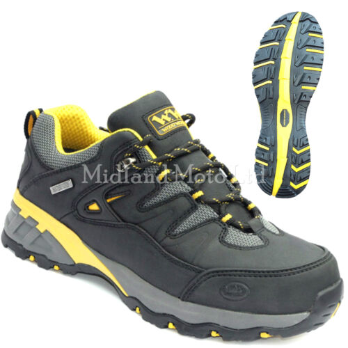 WoodWorld Safety Waterproof  Steel Toe Cap Leather Trainers WW7Lo-P