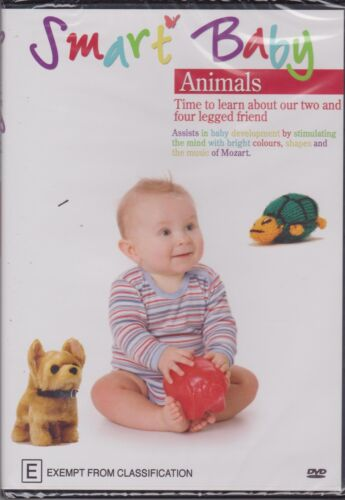 SMART BABY - ANIMALS - TIME TO LEARN ABOUT OUR 2 & 4 LEGGED FRIENDS - DVD