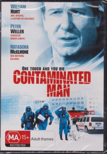 CONTAMINATED MAN - WILLIAM HURT - PETER WELLER - NATASCHA MCELHONE - DVD