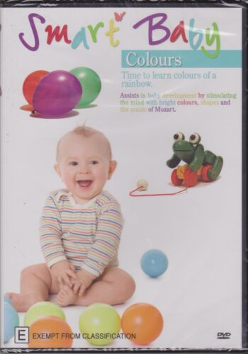 SMART BABY - COLOURS - TIME TO LEARN ABOUT COLOURS OF THE RAINBOW - DVD